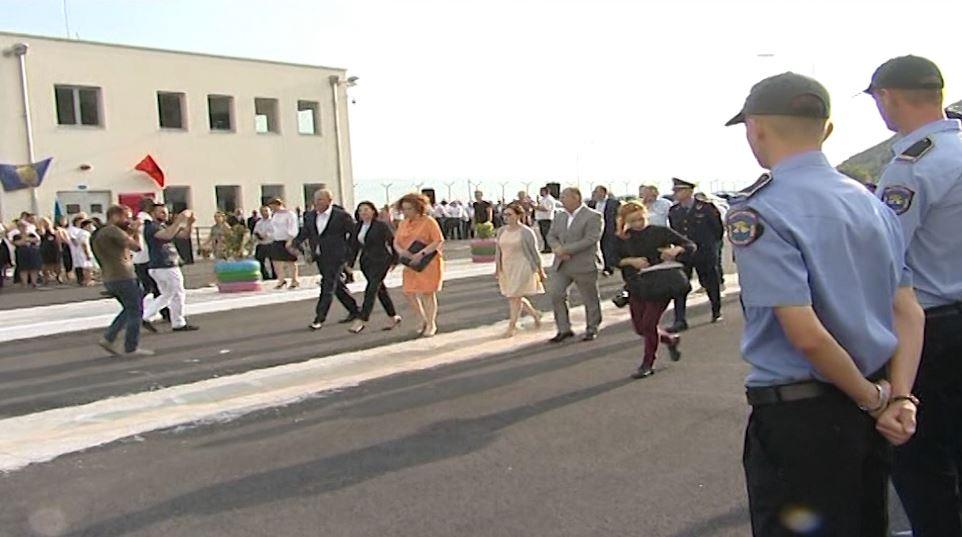 Gjonaj dhe Vlahutin në inaugurimin e burgut të Reçit, investim i BE-së