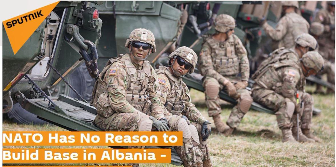 Sputnik: NATO nuk ka asnjë arsye për të ndërtuar bazë në Shqipëri