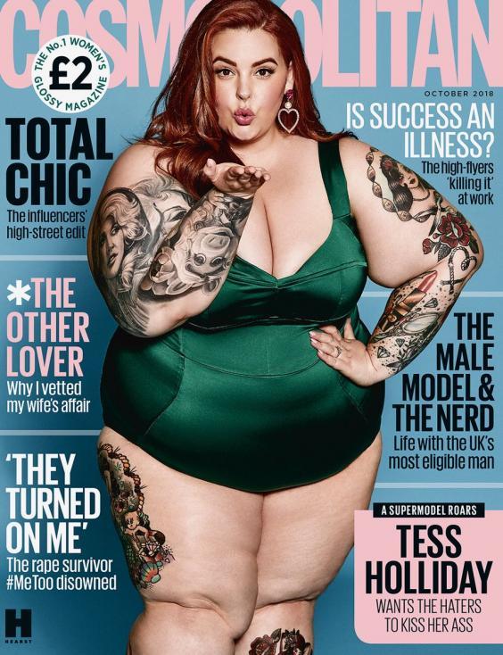 Kjo modele na tregon se bukuria nuk ka peshë