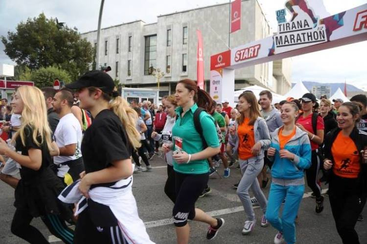 28 shtete pjesëmarrëse në Maratonën e Tiranës