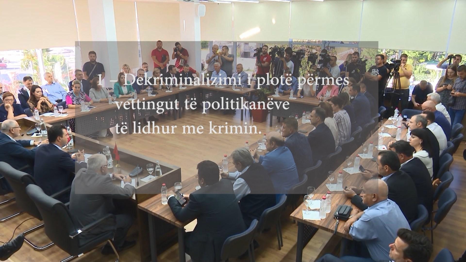 Basha: Vettingu në politikë mbështetet nga qytetarët