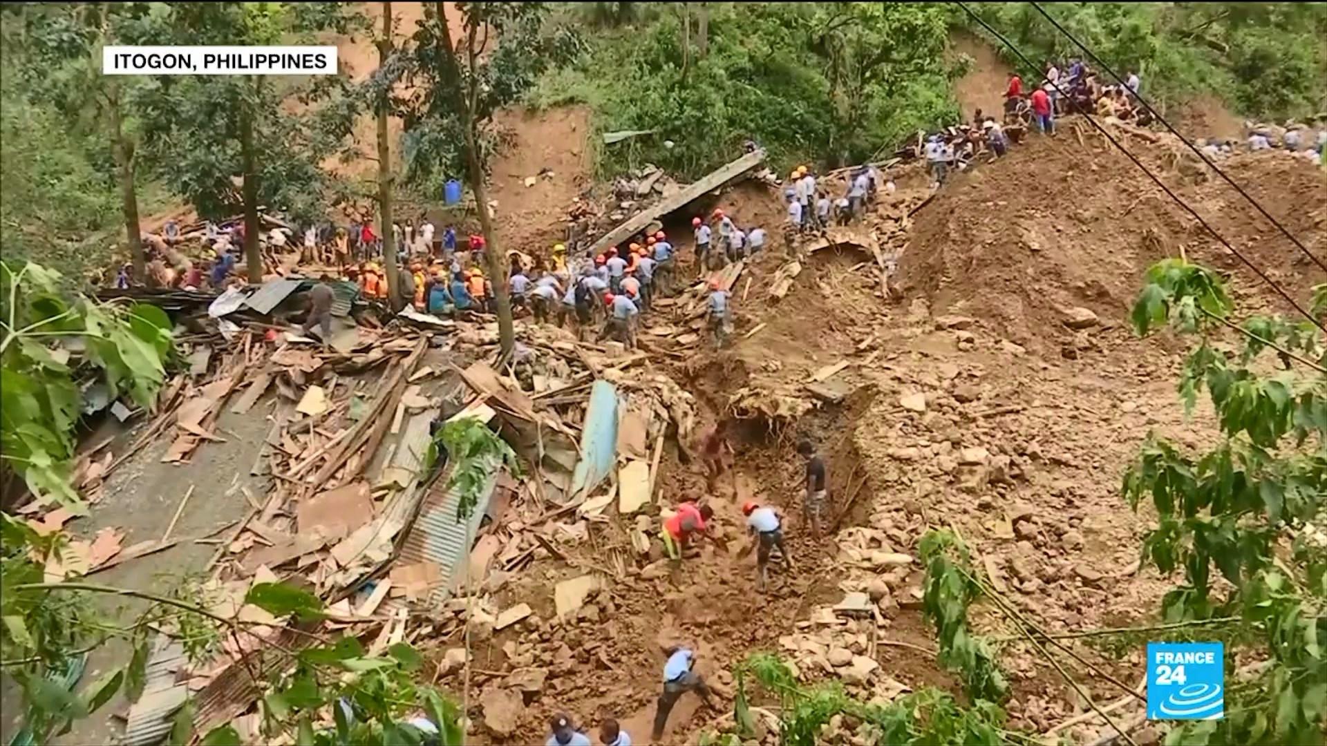 """Filipine, përkeqësohet bilanci i viktimave nga tajfuni """"Mangkhut"""""""