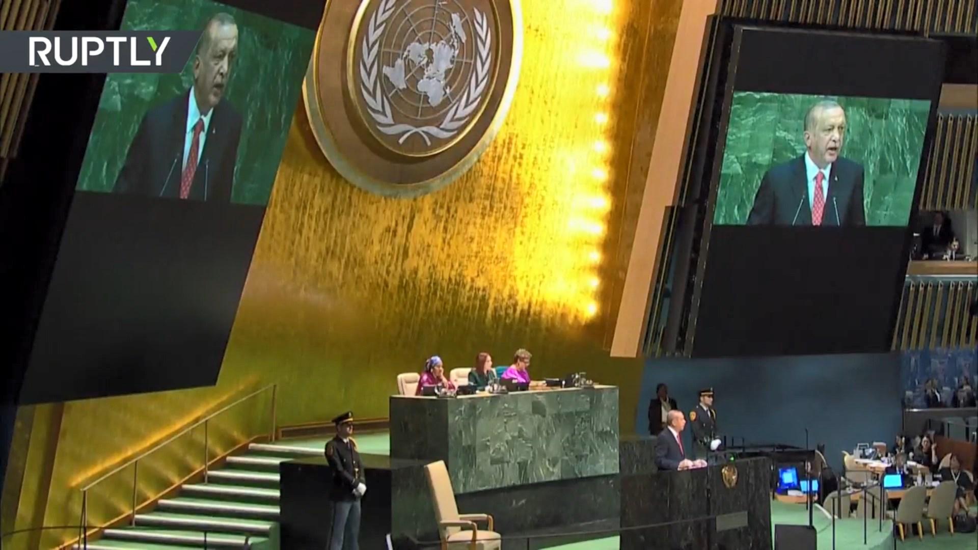 Erdogan: OKB, organizatë e falimentuar, dështoi në zgjidhjen e konflikteve