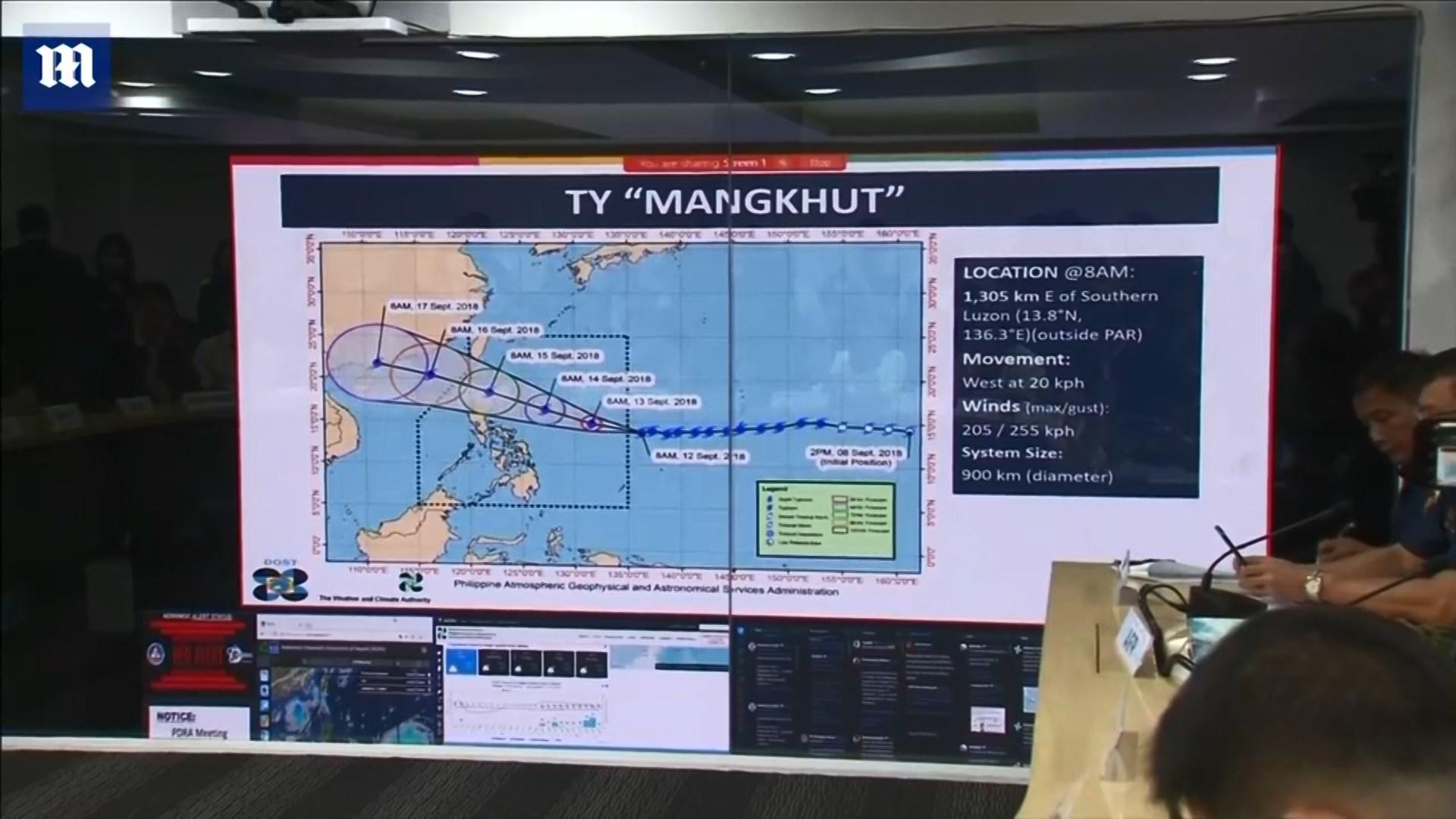 Mijëra të evakuuar në Filipine në pritje të tajfunit Mangkhut