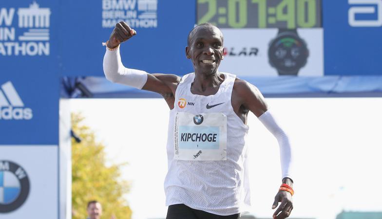 Kipçoge thyen rekordin botëror në garën e atletikës