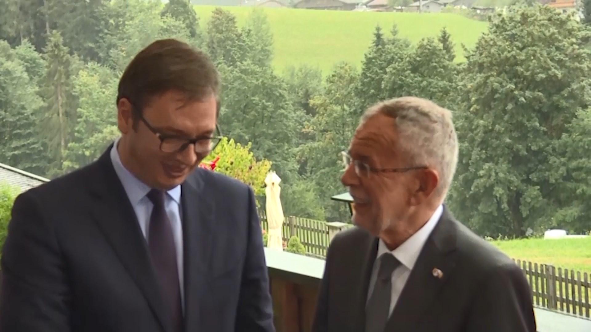 TV shtetëror serb: Vuçic anulon vizitën në Kosovë nëse nuk lejohet te liqeni i Gazivodës