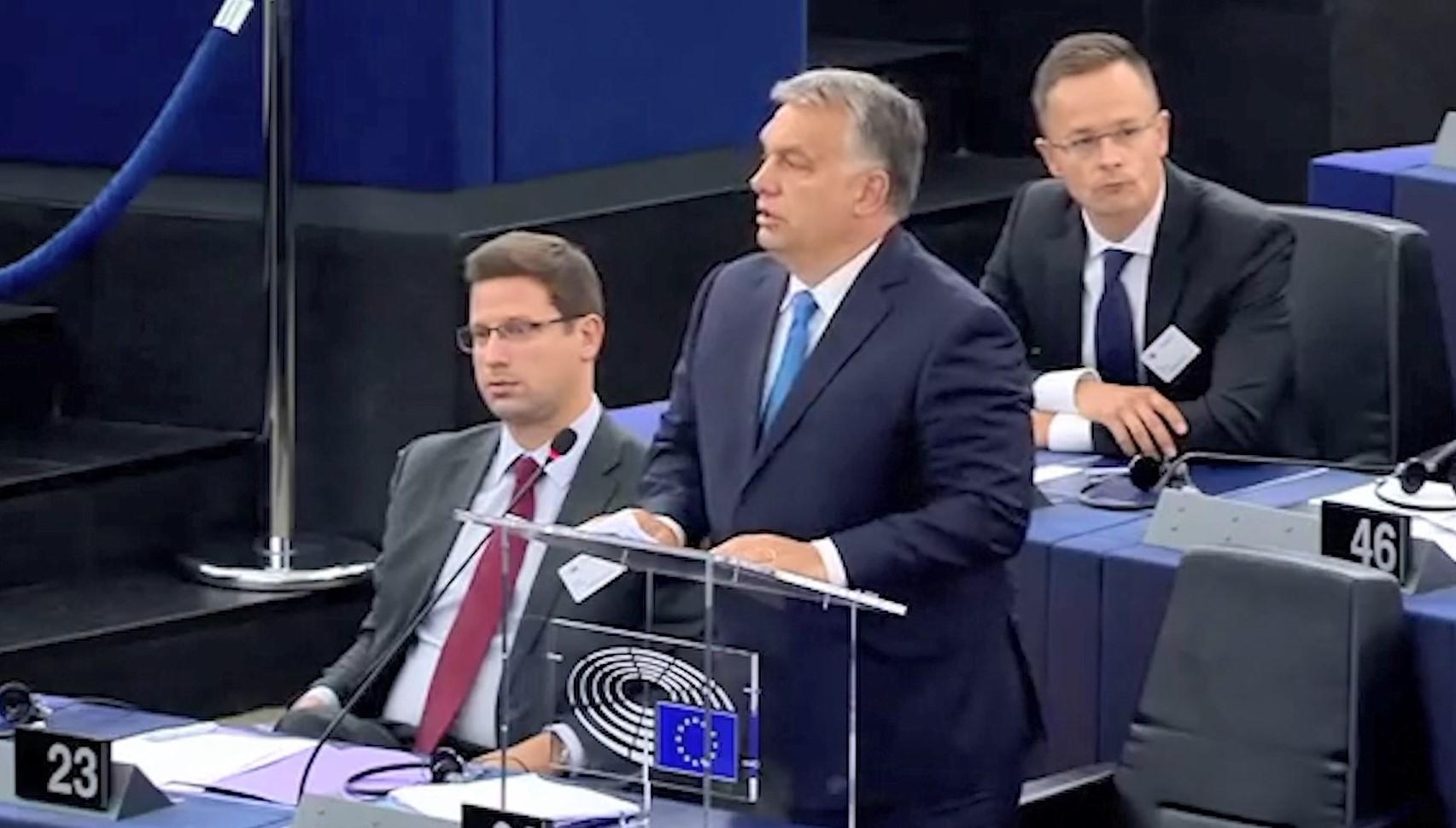 Strazburg, Orban kundër BE-së: Nuk i dorëzohemi shantazheve