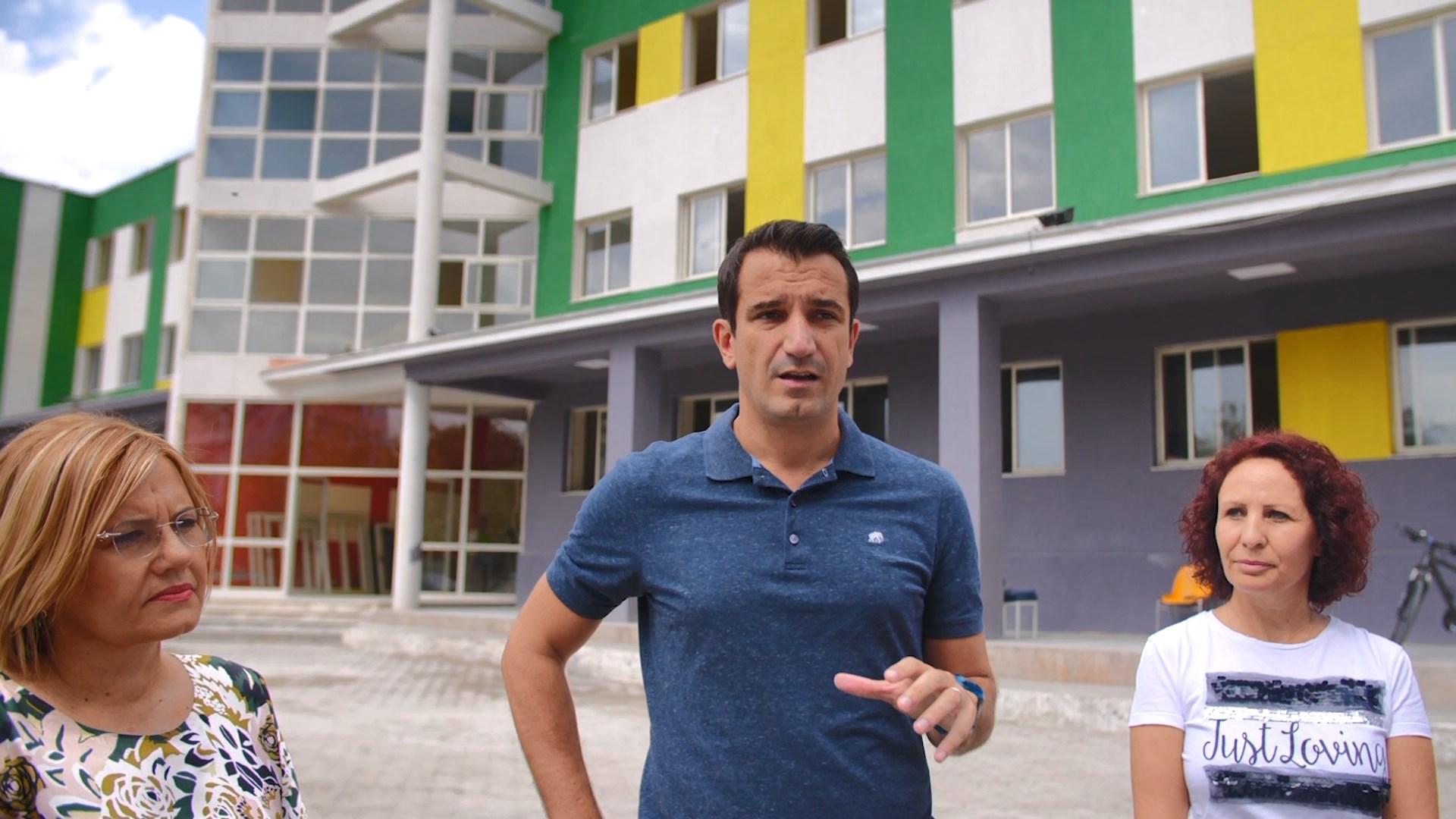 """Rikonstruktohet shkolla """"Ismail Qemali"""" në Tiranë"""