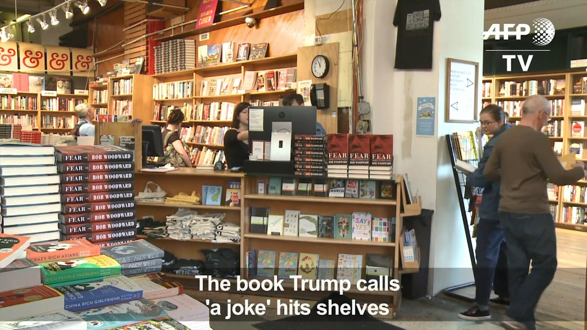 """""""Frika"""" në krye te klasifikimeve, një tjetër libër pritet t'i prishë humorin Trump"""