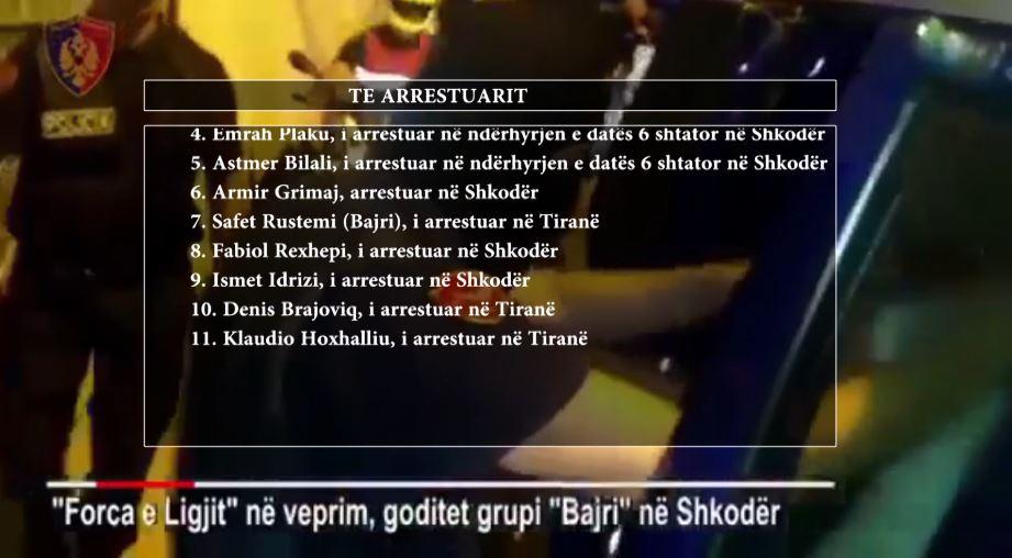 """Grupi """"Bajri"""" të hënën del para Gjykatës së Krimeve të Rënda"""