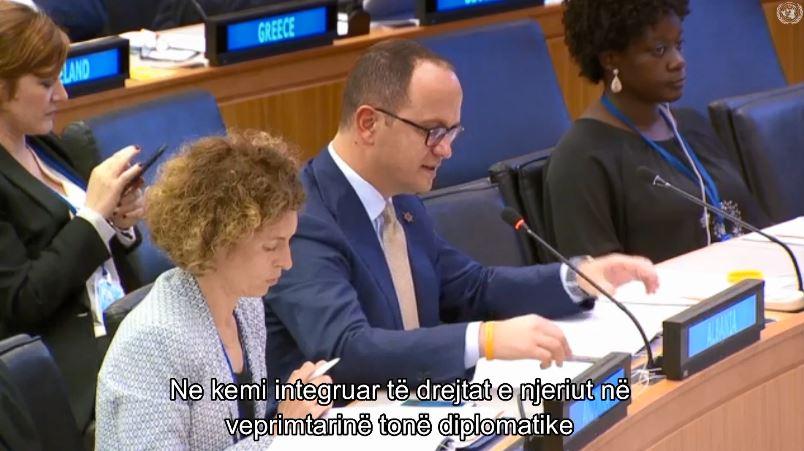 Bushati në OKB: Diversiteti, pasuri e madhe e shoqërisë tonë