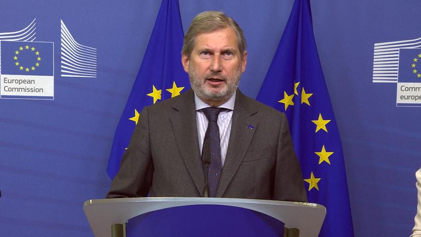 Hahn: Në maj, rekomandim pozitiv për hapjen e negociatave