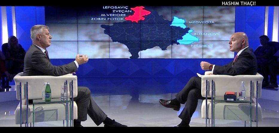 """Thaçi: Nuk do të lejoj """"Republika Srpska"""" në Kosovë"""