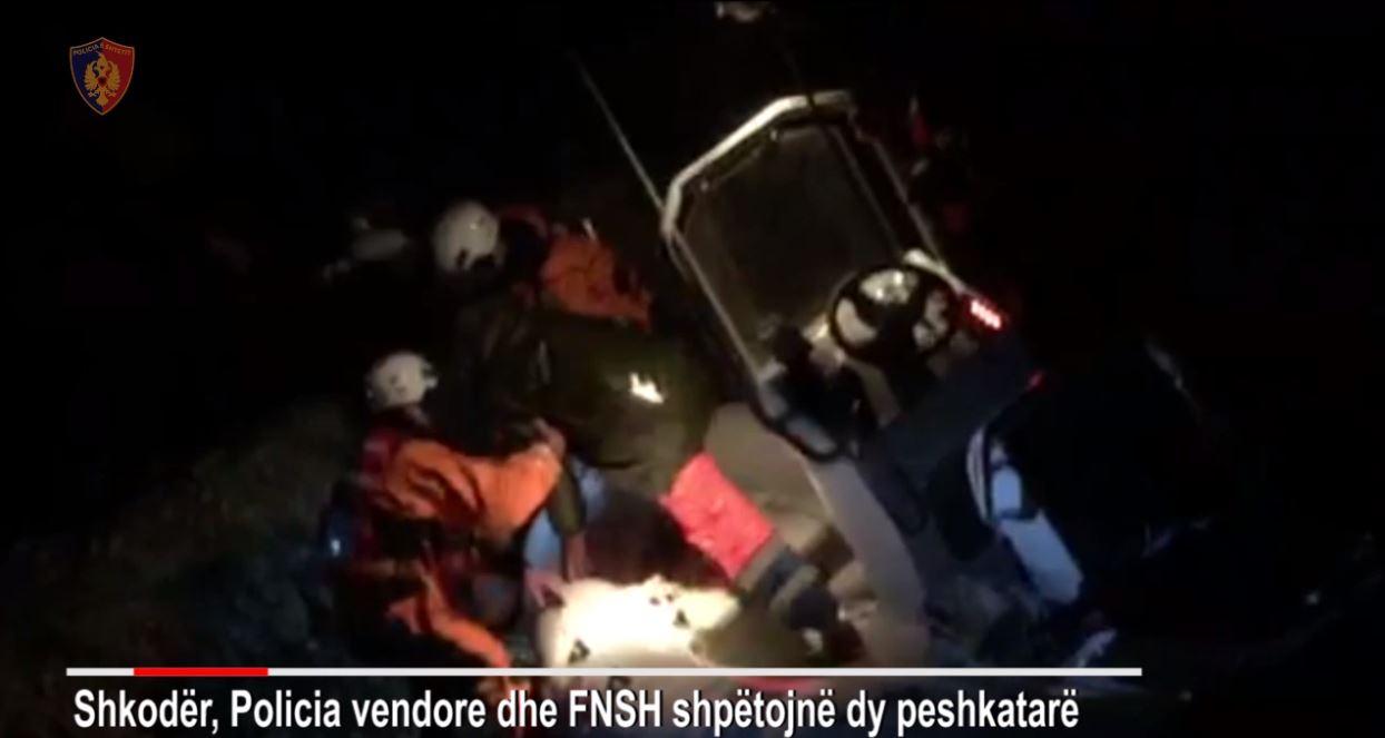 Shpëtohen dy peshkatarë të izoluar