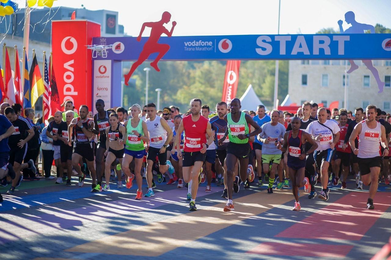 Zbulohet itinerari i Maratonës III të Tiranës, regjistrimet deri në 30 shtator