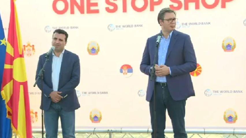 Vuçiç takohet me Zaev në Preshevë