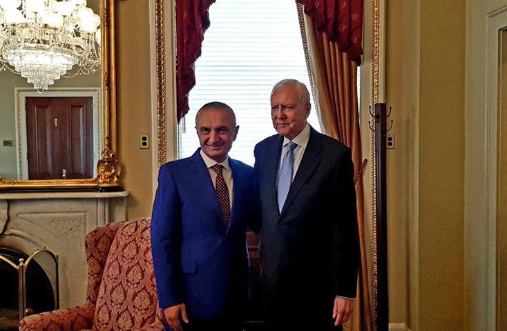 Presidenti Meta pritet nga kreu i Senatit Amerikan