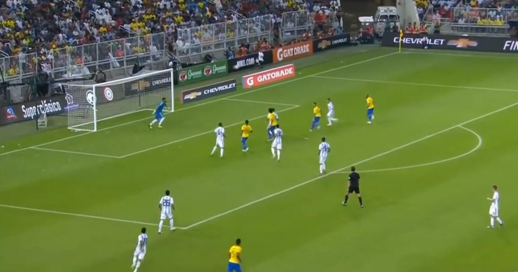 Brazili mund Argjentinën