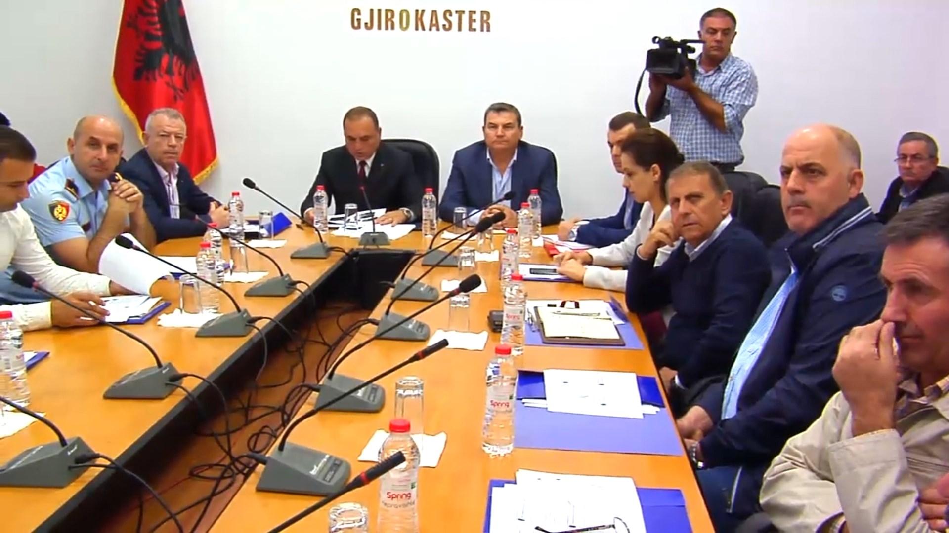 Mblidhen Emergjencat Civile në Gjirokastër