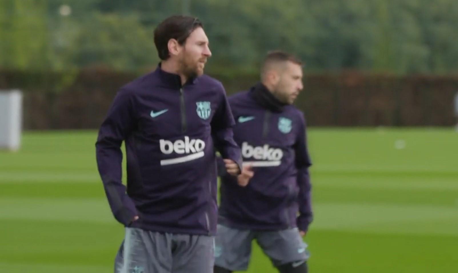 Lionel Mesi kthehet në stërvitje për Barcelonën