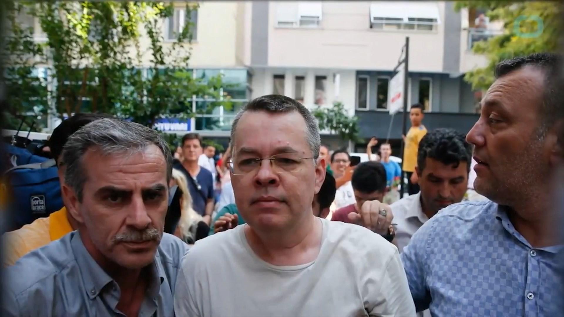 SHBA-Turqi, marrëveshje për lirimin e pastorit amerikan