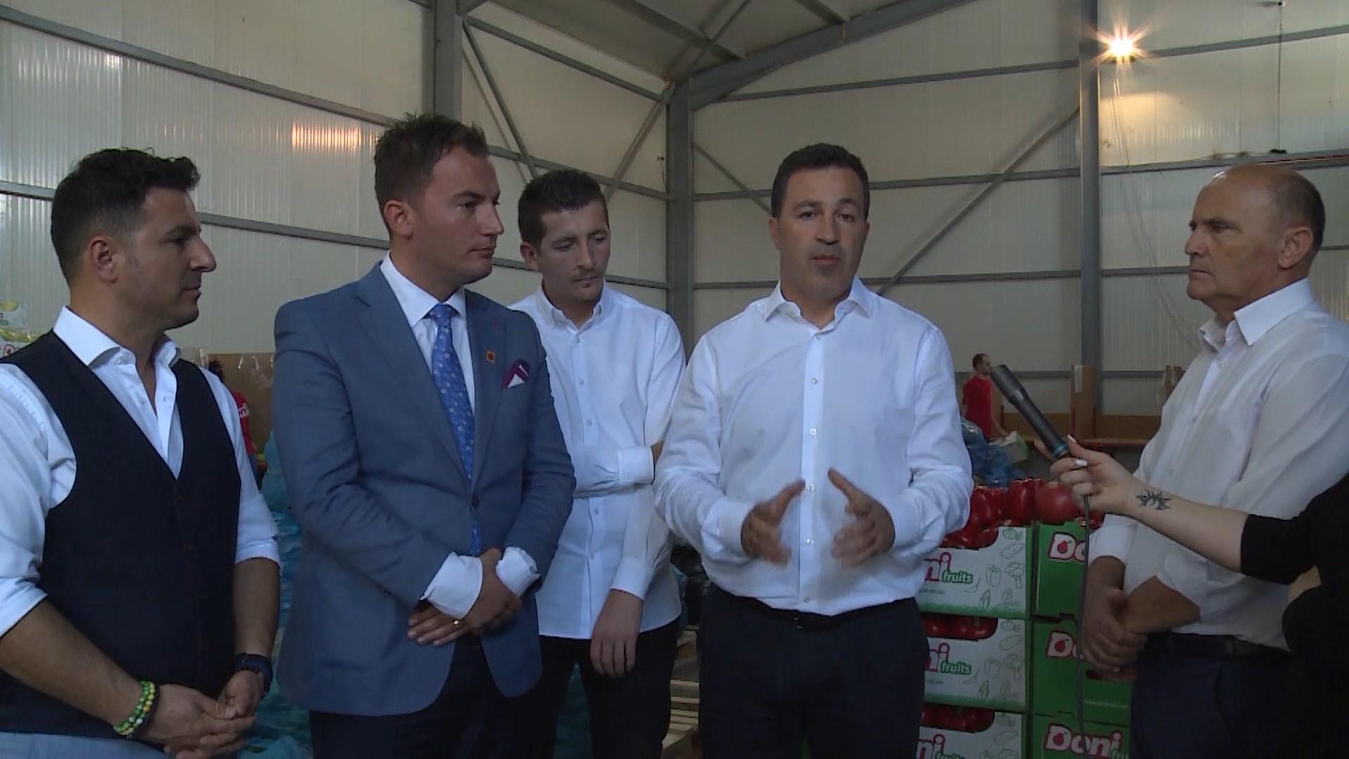 Peleshi: Frutat dhe perimet shqiptare më të kërkuarat në rajon