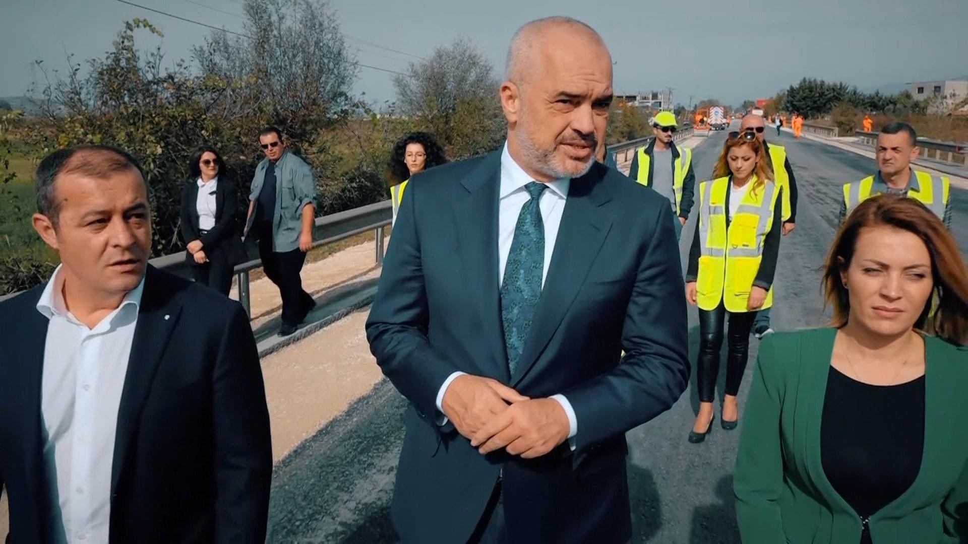 Kryeministri Rama inspekton segmentin Vorë – Fushë-Krujë