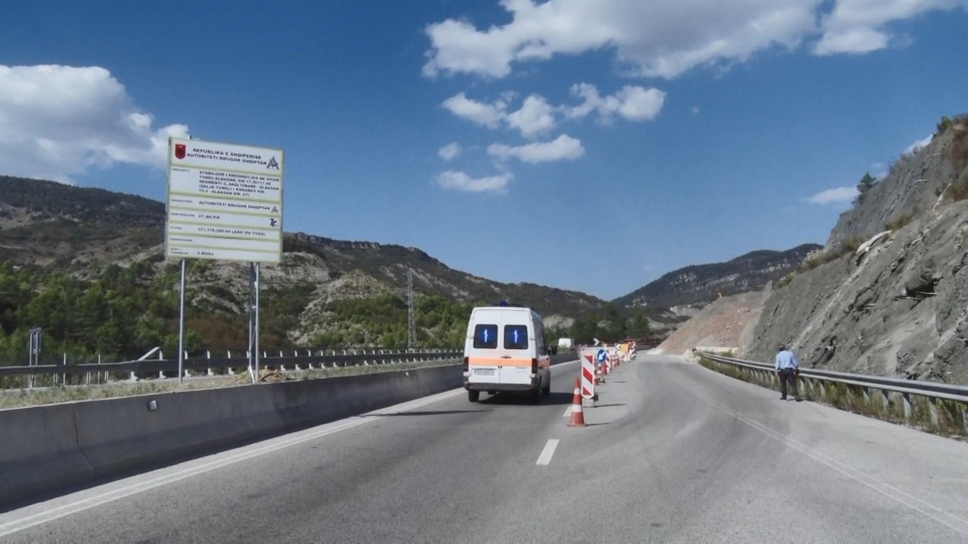 Punimet në Elbasan-Tiranë, në fund të dhjetorit shmanget rruga e Kërrabës