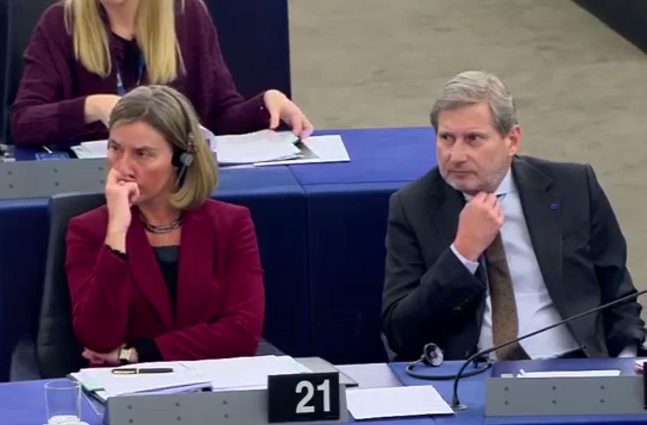 Korrigjimi i kufijve në raportin e PE për Serbinë