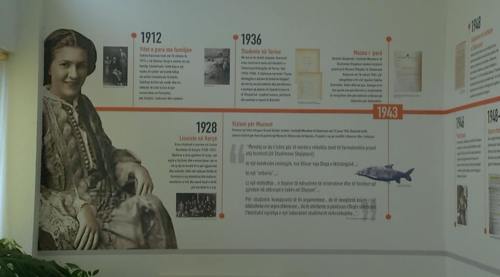 Muzeu i Shkencave të Natyrës merr emrin e shkencëtares Sabiha Kasimati