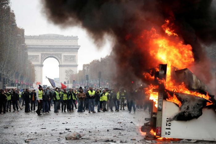"Paris, zbutet ""lufta urbane"""