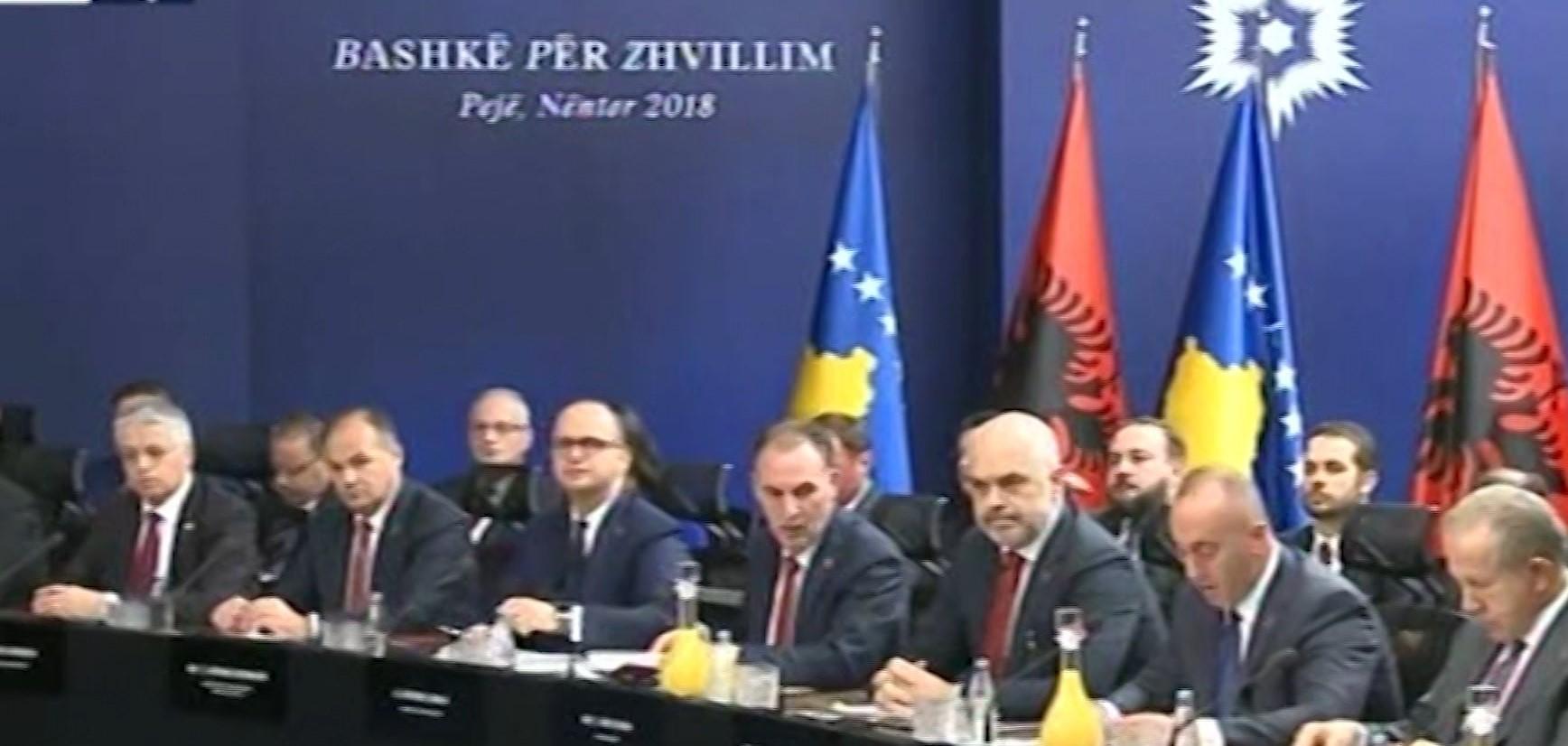Serbia reagon ndaj mbledhjes së përbashkët mes qeverive në Pejë
