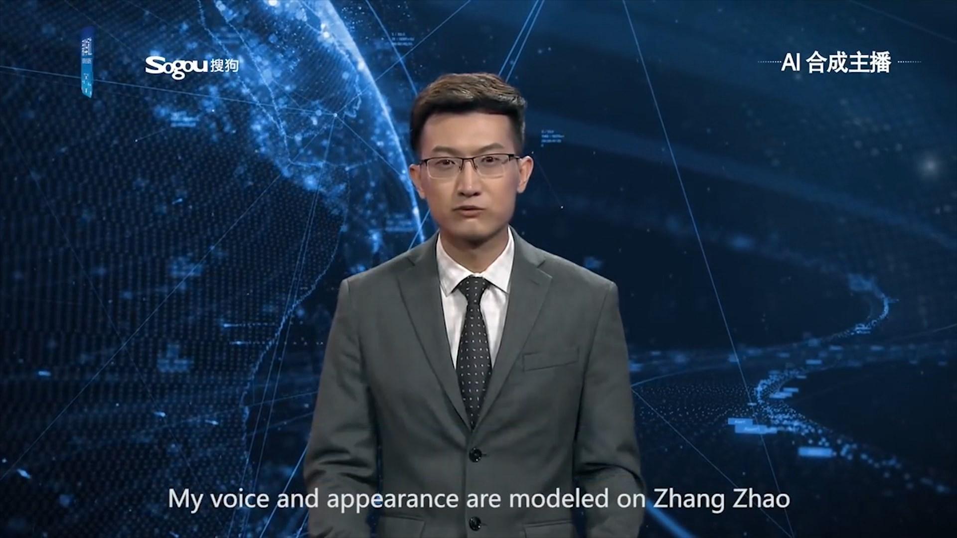 Në Kinë punësohen dy gazetarët e parë robotë