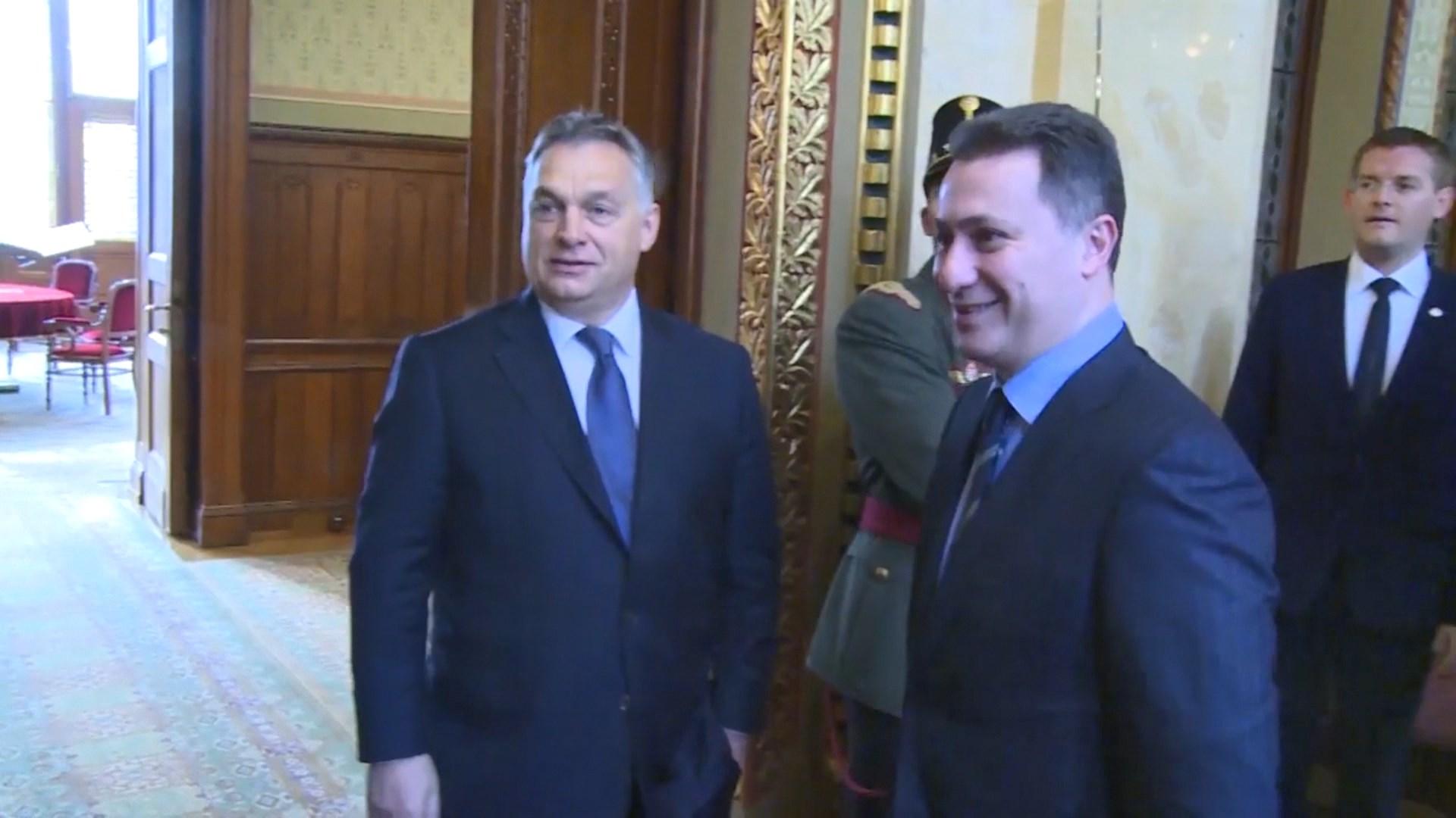 Hungari, qeveria pranon kërkesën e Gruevskit për azil