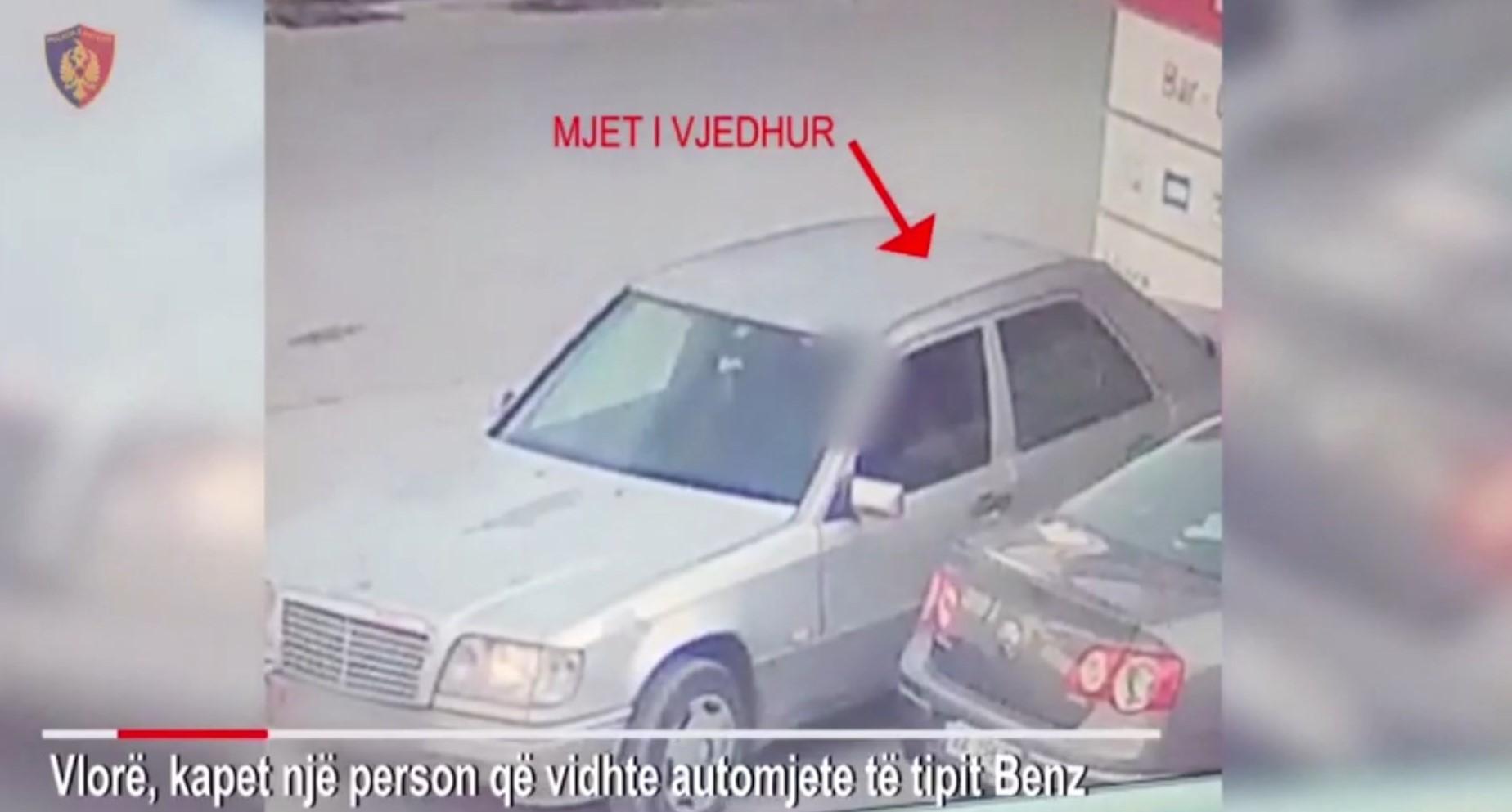 Vlorë, policia arreston hajdutin e makinave