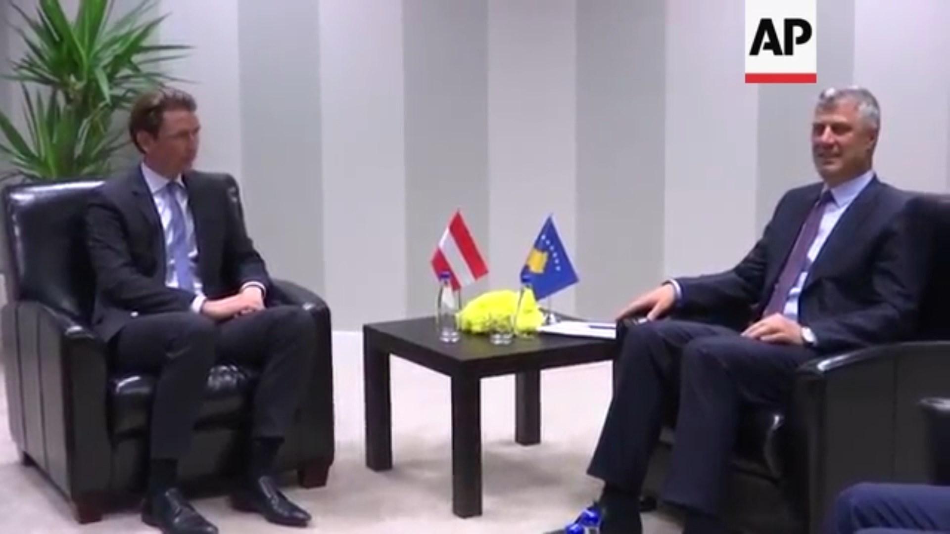 Sebastian Kurz vizitë zyrtare në Kosovë