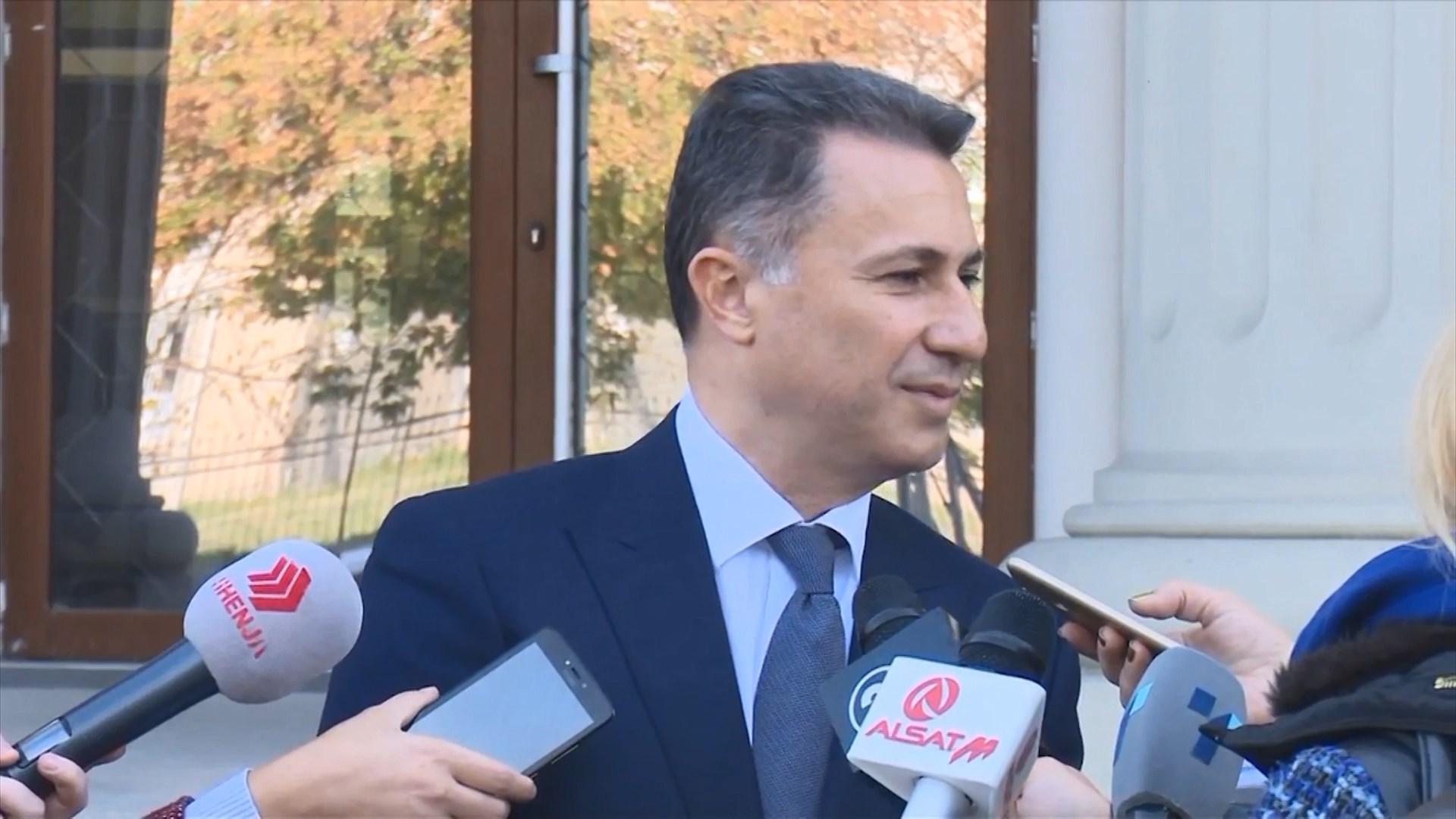 Gruevski ka kohë deri të hënën për t'u vetëdorëzuar