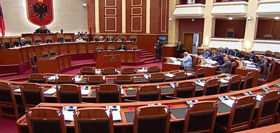 Kuvendi voton shkarkimin e Fatmir Xhafajt