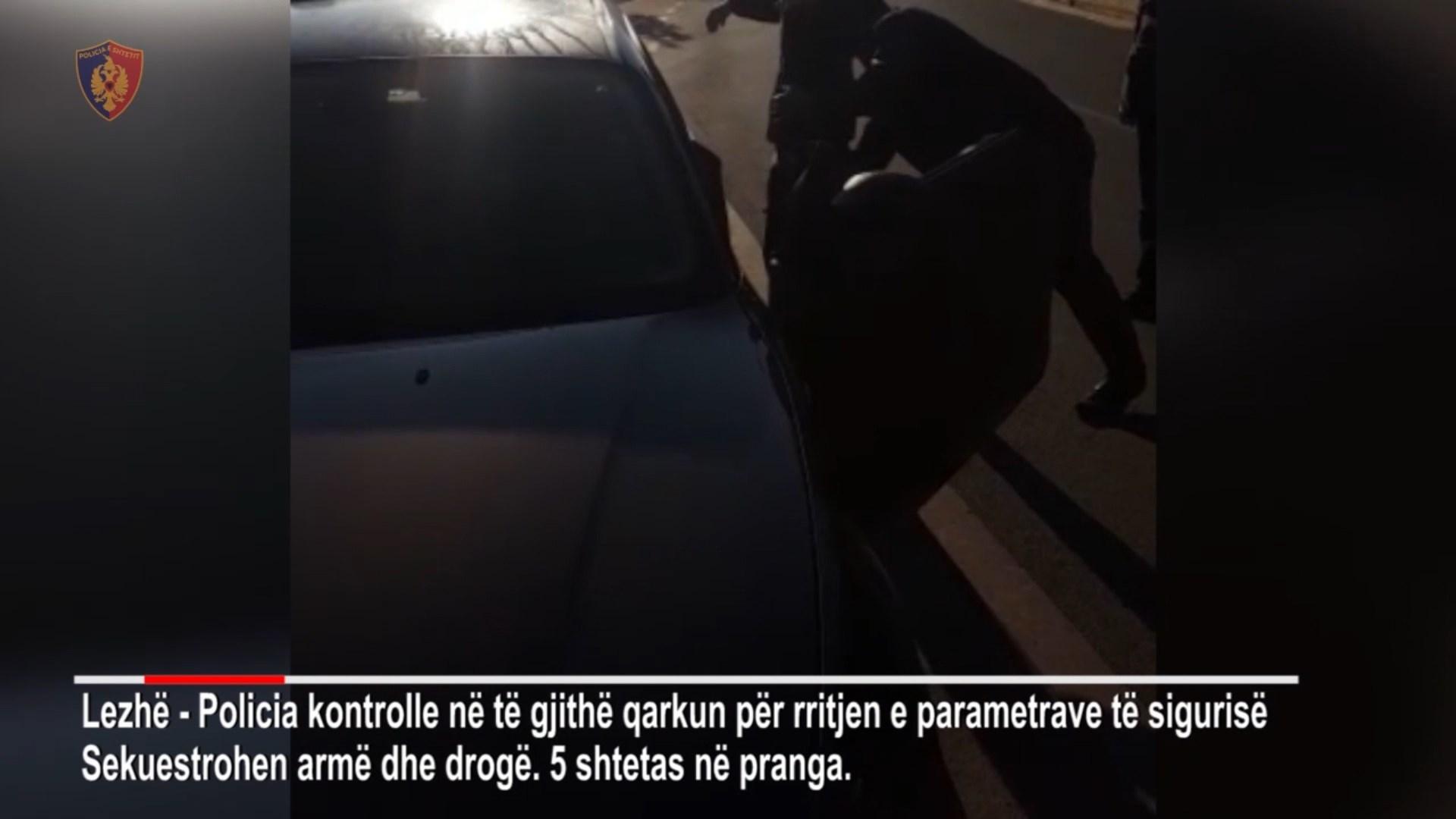 Pesë të arrestuar në Mirditë dhe Lezhë, iu gjetën armë dhe drogë