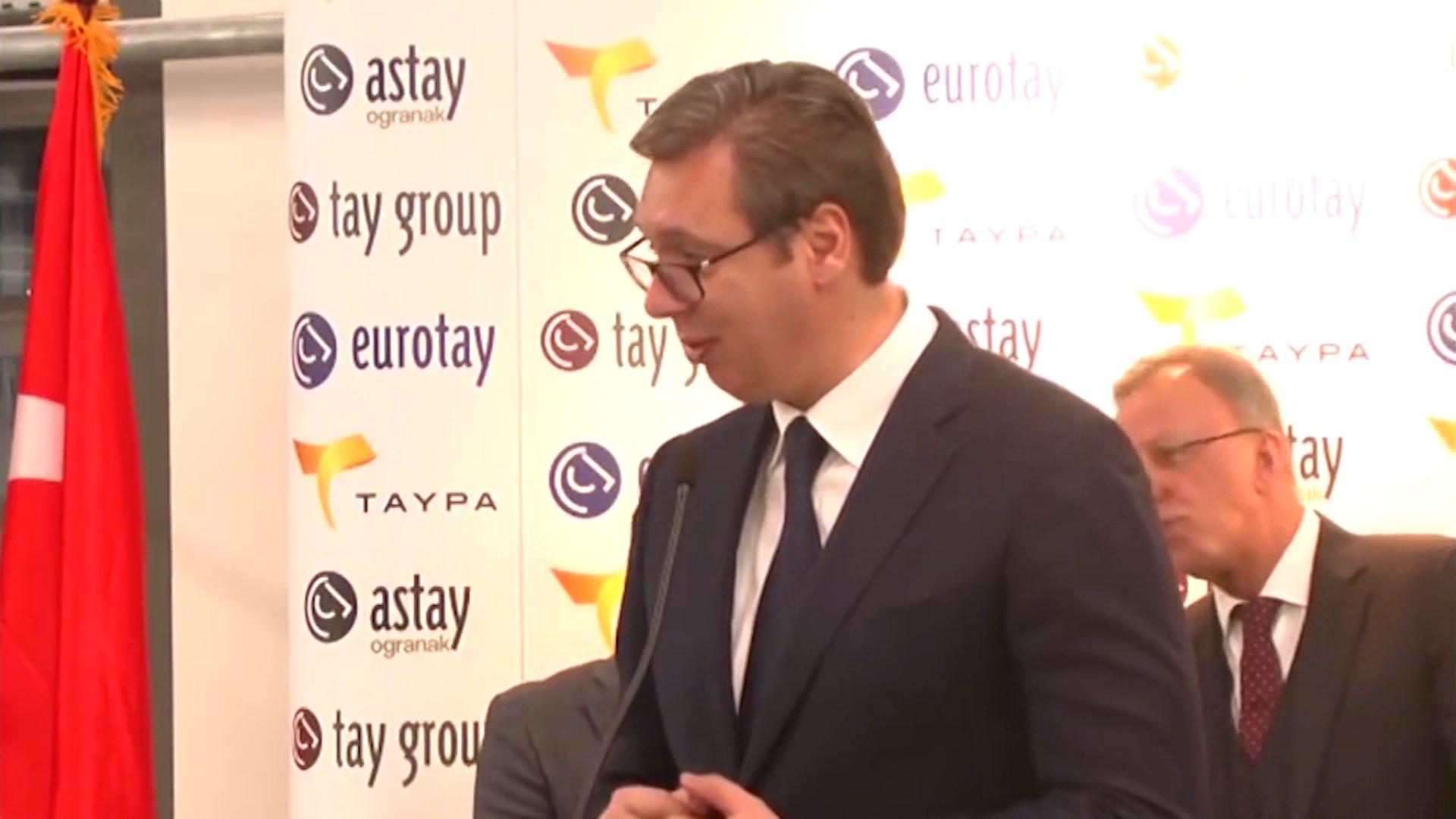 Lidhjet ekonomike Serbi-Turqi, shkëmbim mallrash