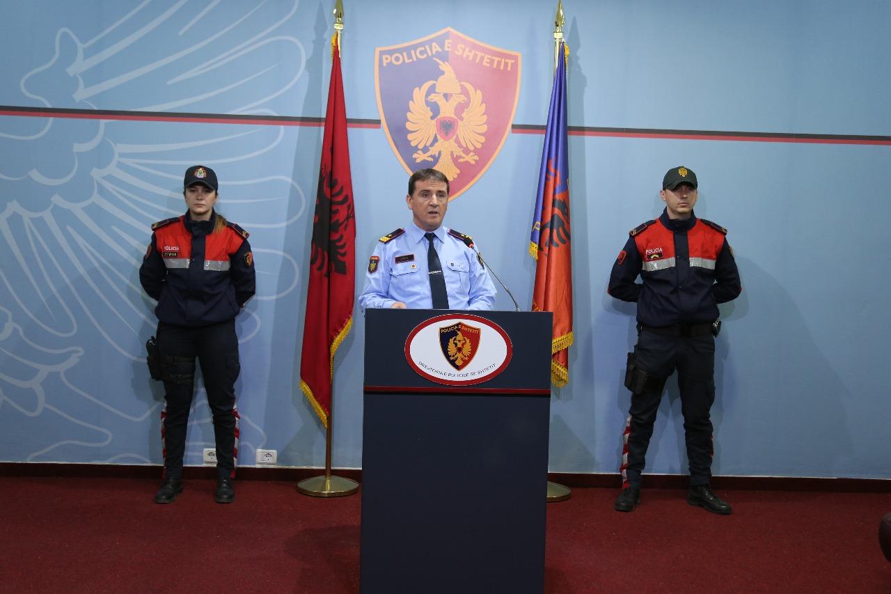 Policia: Në një javë, 54 të arrestuar dhe 3.6 kg drogë e sekuestruar