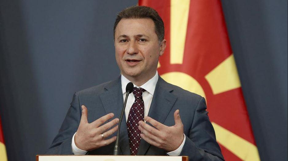 VMRO-DPMNE për rastin Gruevski: Ikja skandaloze, përgjegjësia e pushtetit