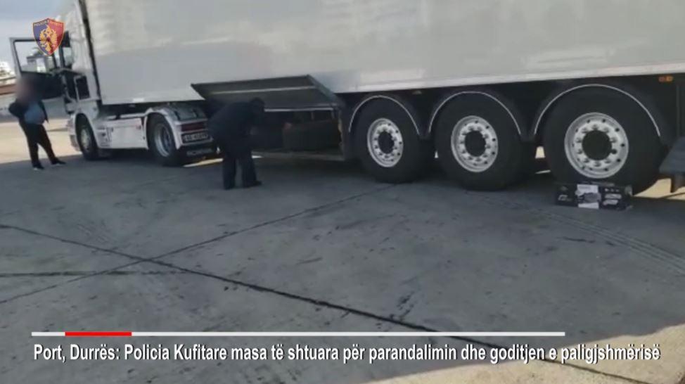 Tentuan të kalonin kufirin, gjoba dhe të arrestuar në Durrës