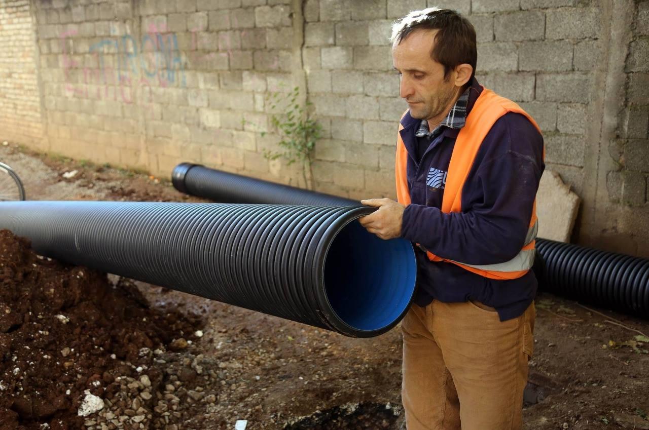 """Rruga """"Kongresi i Manastirit"""" me rrjet të ri kanalizimesh"""