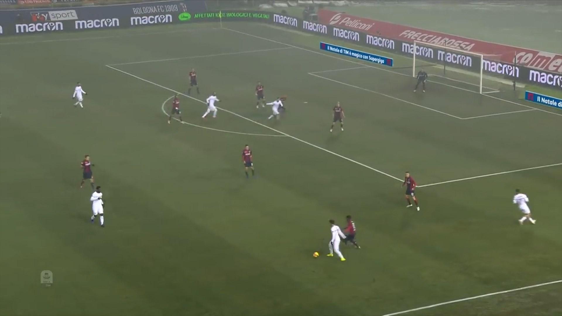 Milani ndalet në Bolonja