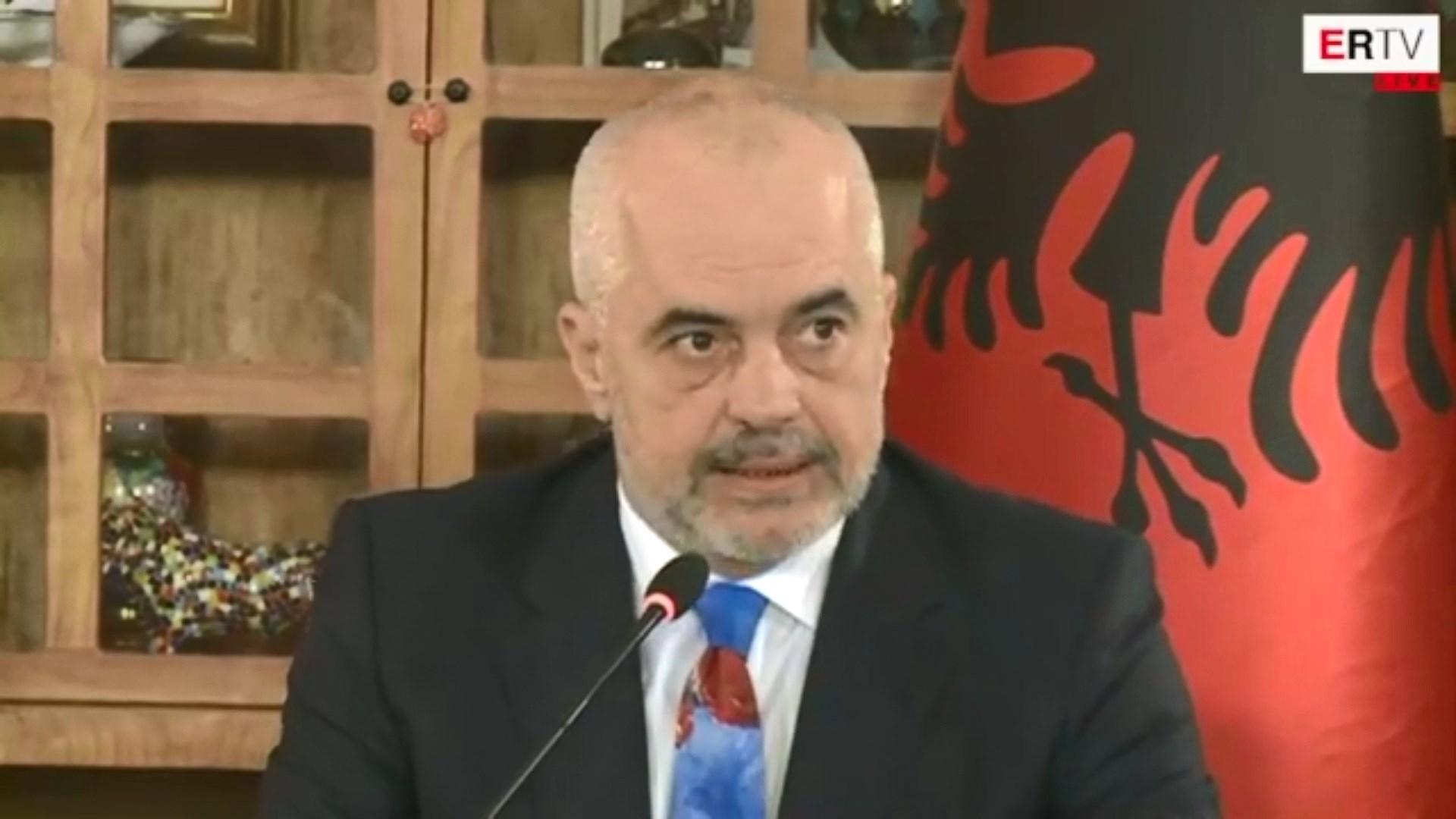 Rama bën bilancin e 2018-ës: Sot shqiptarët jetojnë më mirë se dje