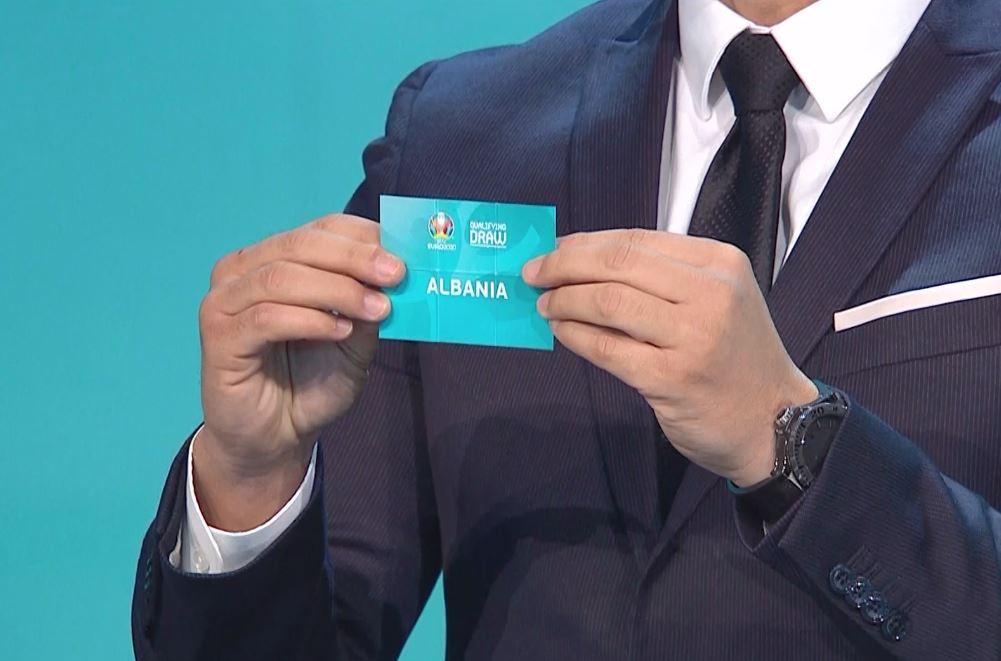 Eliminatoret e Francës, Shqipëria në grup me Francën