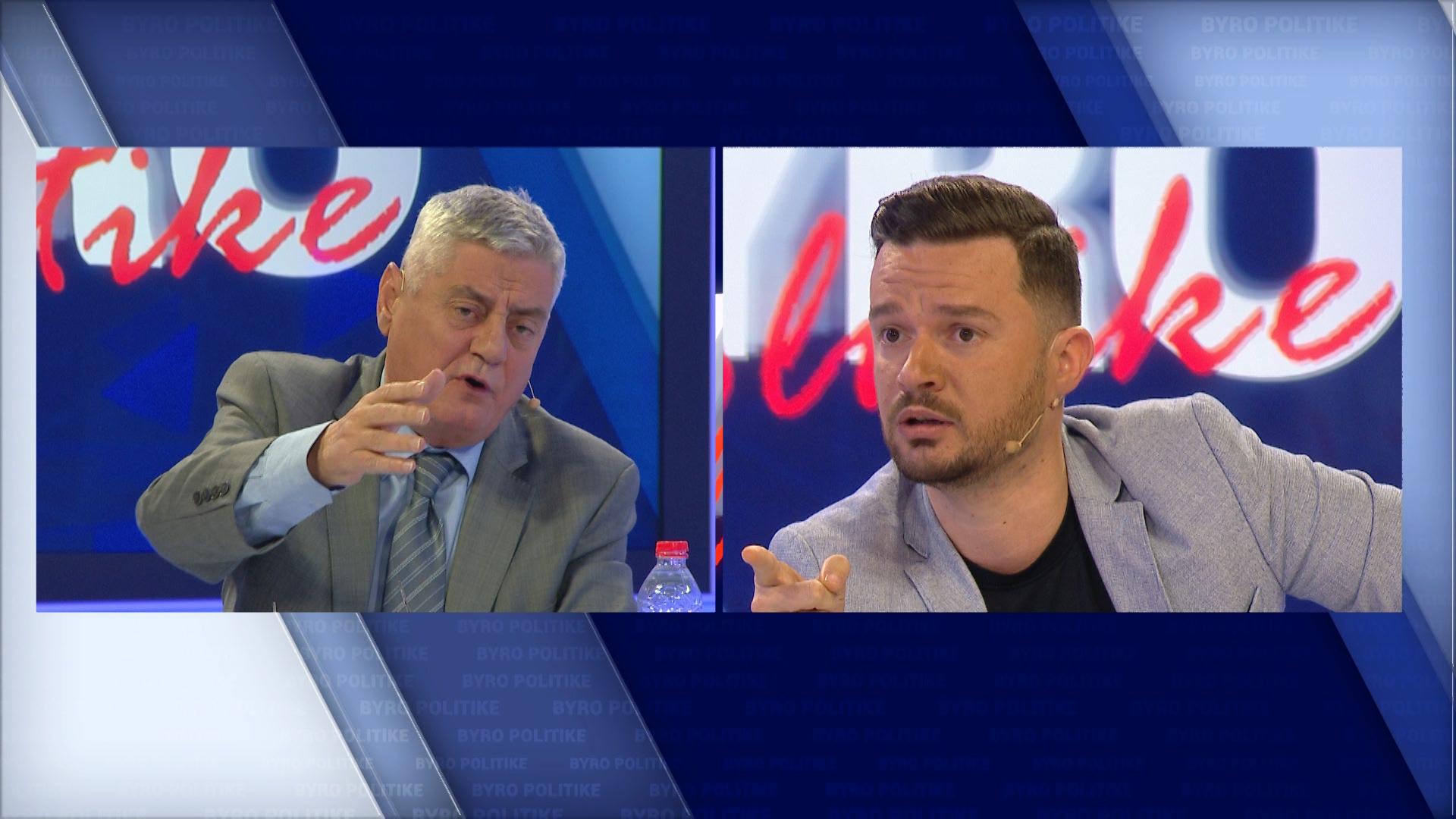 Fyerje dhe debate mes Dashamir Shehit dhe Arian Curit në Byro Politike (Video)