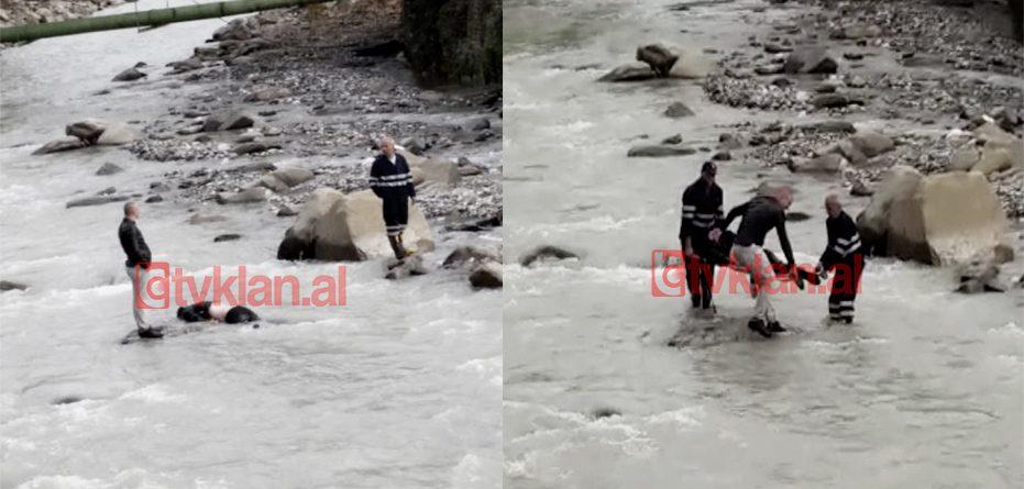 Gjendet i pajetë në lumë një 44-vjeçar (Video)