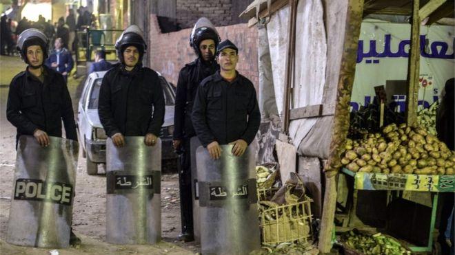Egjipt, humb jetën polici gjatë ç'aktivizimit të bomës në Kishë